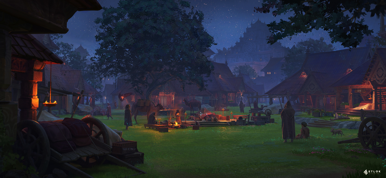 Cotopi Village Night: Into The Echo